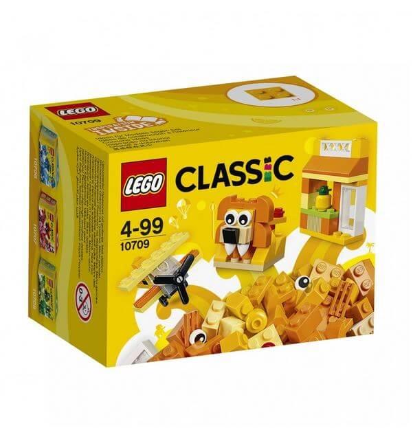 LEGO® Classic Cutie portocalie de creativitate 10709 0