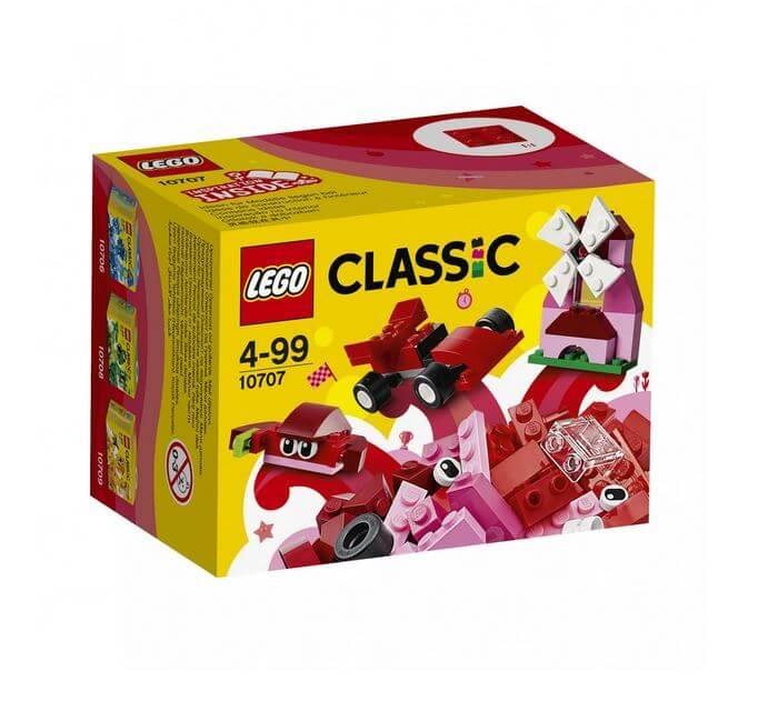 LEGO® Classic Cutie rosie de creativitate 10707 0