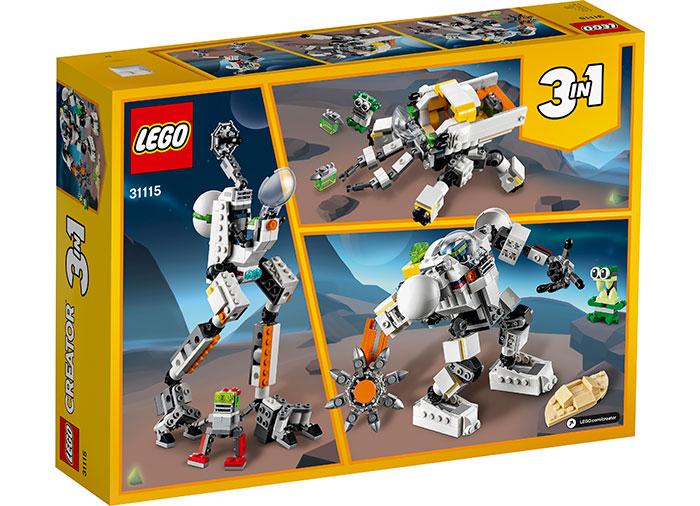 LEGO® Creator: Robot miner spatial 31115 [1]