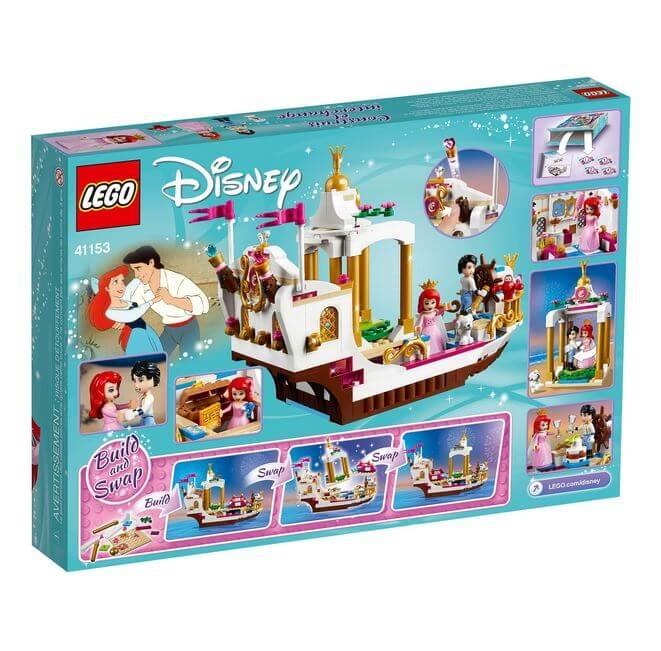 LEGO® Disney Princess™ Ambarcatiunea regala a lui Ariel 41153 1