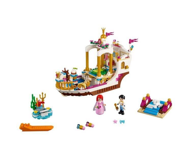 LEGO® Disney Princess™ Ambarcatiunea regala a lui Ariel 41153 2