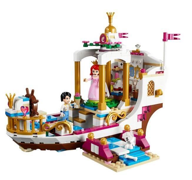 LEGO® Disney Princess™ Ambarcatiunea regala a lui Ariel 41153 3