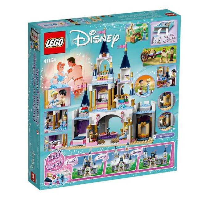 LEGO® Disney Princess™ Castelul de vis al Cenusaresei 41154 1
