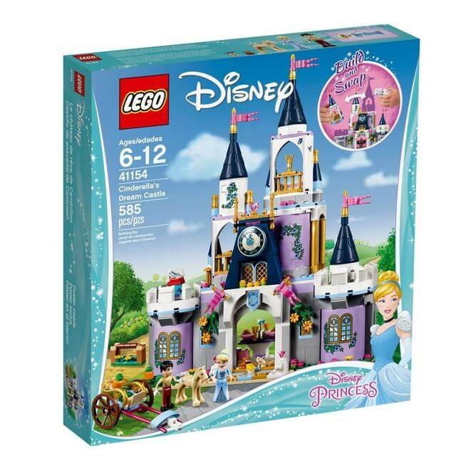 LEGO® Disney Princess™ Castelul de vis al Cenusaresei 41154 0