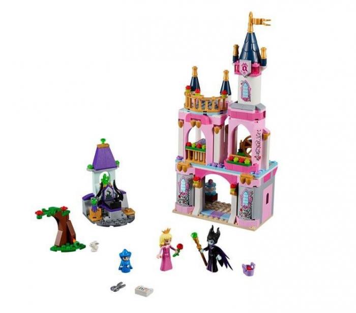 LEGO® Disney Princess™ Castelul Frumoasei Adormite 41152 2