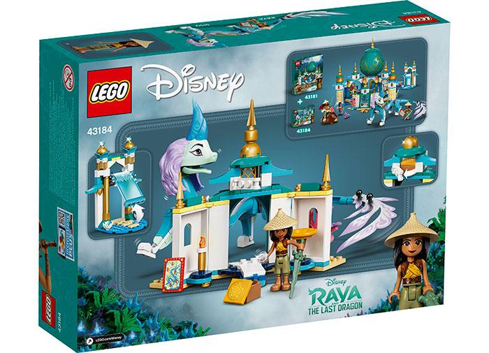 LEGO® Disney Princess™: Raya si Dragonul Sisu 43184 1