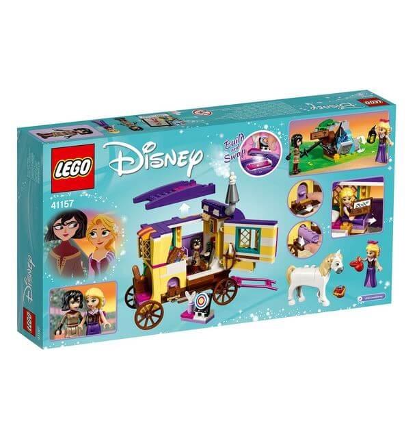 LEGO® Disney Princess™ Rulota de calatorii a lui Rapunzel 41157 2