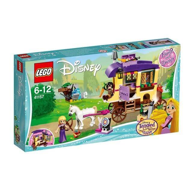 LEGO® Disney Princess™ Rulota de calatorii a lui Rapunzel 41157 0