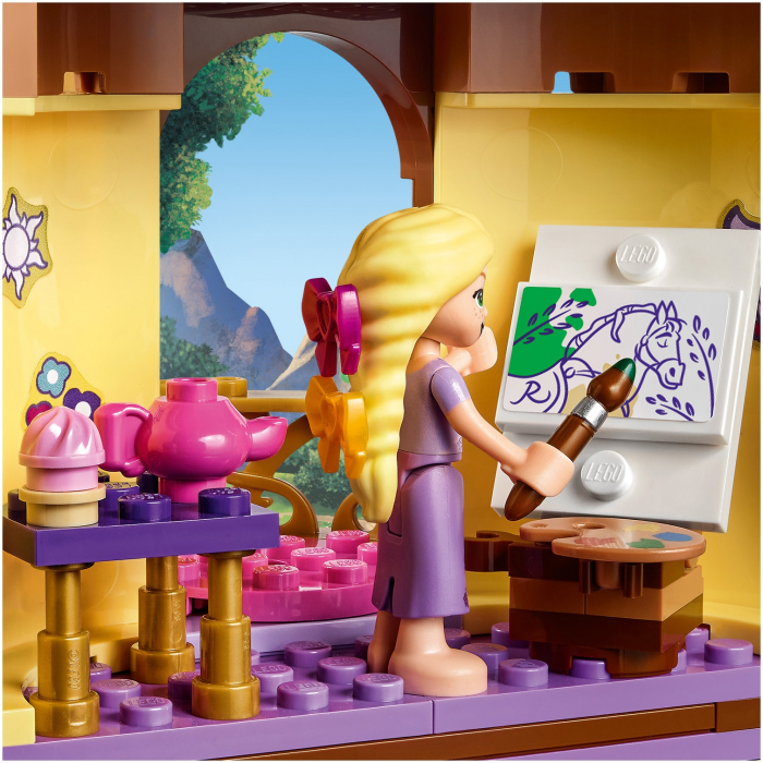 LEGO Disney Princess - Turnul lui Rapunzel 43187 2