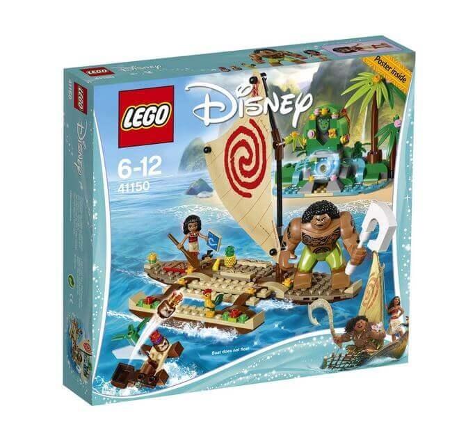 LEGO® Disney Princess™ Vaiana si calatoria ei pe ocean 41150 0