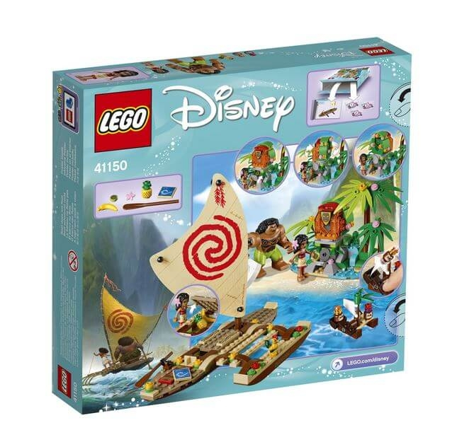 LEGO® Disney Princess™ Vaiana si calatoria ei pe ocean 41150 2