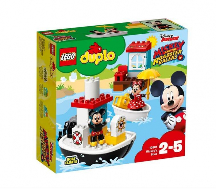 LEGO® DUPLO® Barca lui Mickey 10881 0