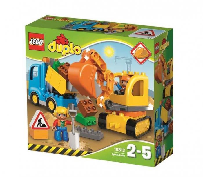LEGO® DUPLO® Camion & excavator pe senile 10812 2