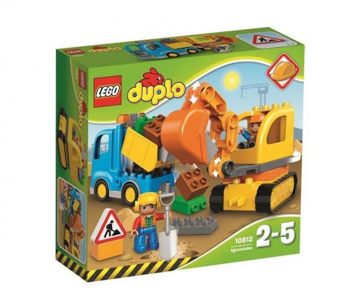 LEGO® DUPLO® Camion & excavator pe senile 10812 0