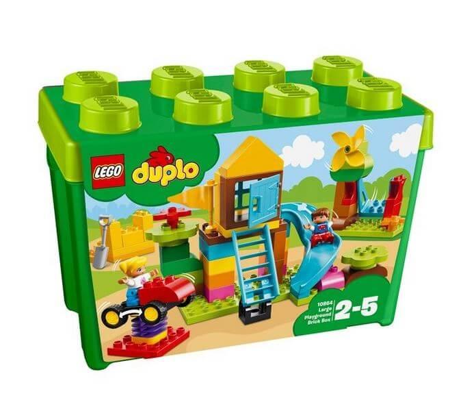 LEGO® DUPLO® Cutie mare de caramizi pentru terenul de joaca 10864 0