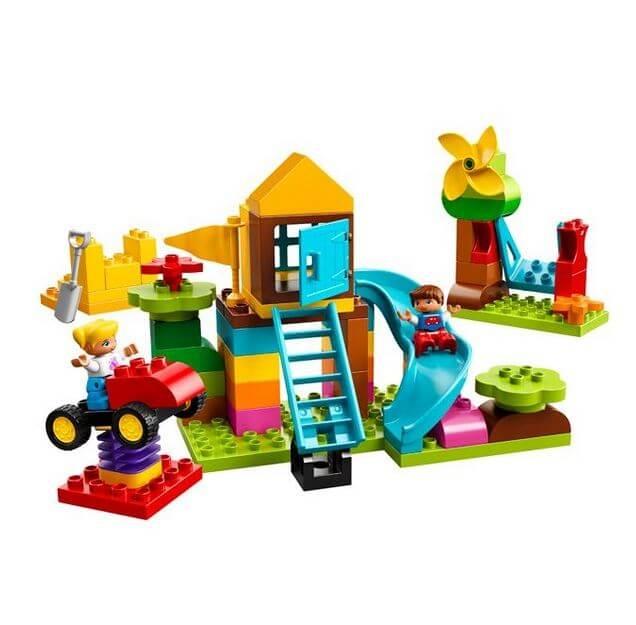 LEGO® DUPLO® Cutie mare de caramizi pentru terenul de joaca 10864 1