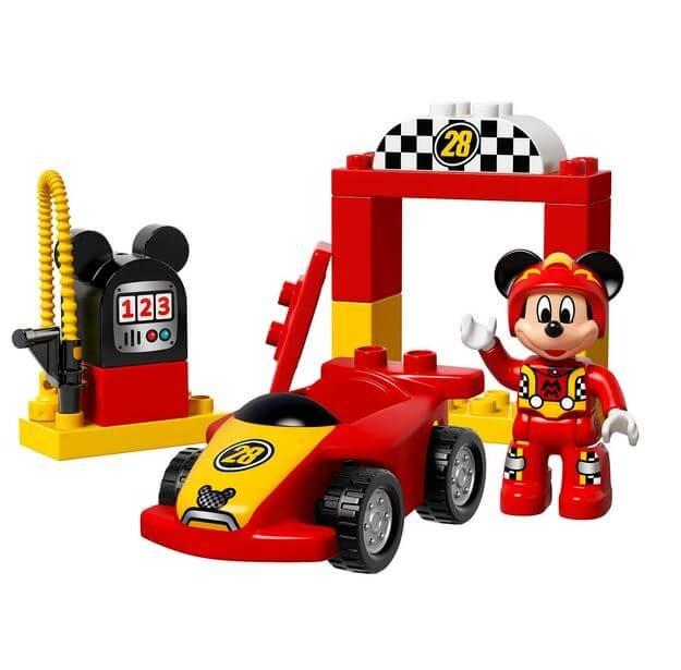 LEGO® DUPLO® Disney™ Masina de curse a lui Mickey 10843 4
