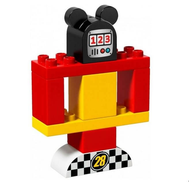 LEGO® DUPLO® Disney™ Masina de curse a lui Mickey 10843 3