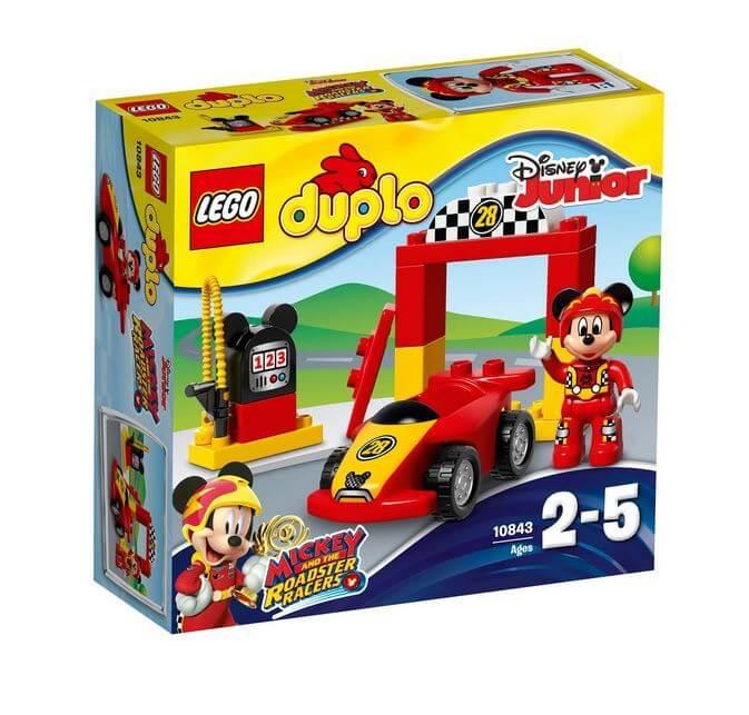 LEGO® DUPLO® Disney™ Masina de curse a lui Mickey 10843 0