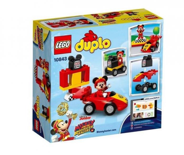 LEGO® DUPLO® Disney™ Masina de curse a lui Mickey 10843 2
