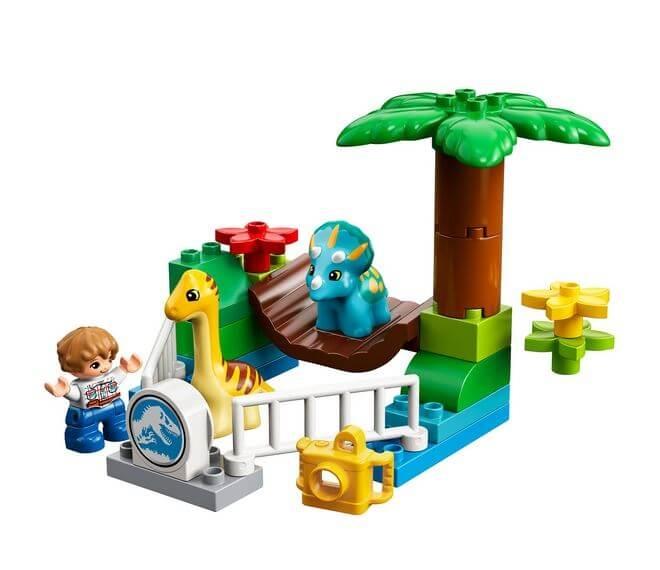 LEGO® DUPLO® Gradina Zoo a uriasilor blanzi 10879 2