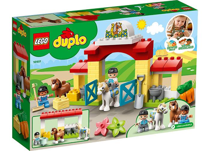 LEGO® DUPLO® : Grajdul cailor si al poneilor 10951 [1]