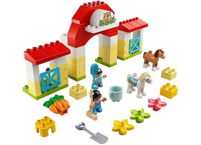 LEGO® DUPLO® : Grajdul cailor si al poneilor 10951 [0]