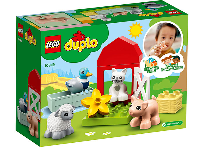 LEGO® DUPLO® : Ingrijirea animalelor de la ferma 10949 1