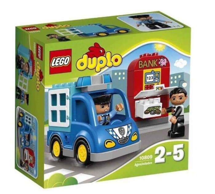 LEGO® DUPLO® Patrula de politie 10809 0