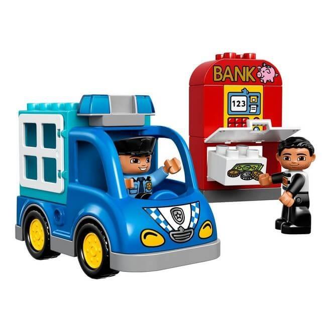 LEGO® DUPLO® Patrula de politie 10809 1