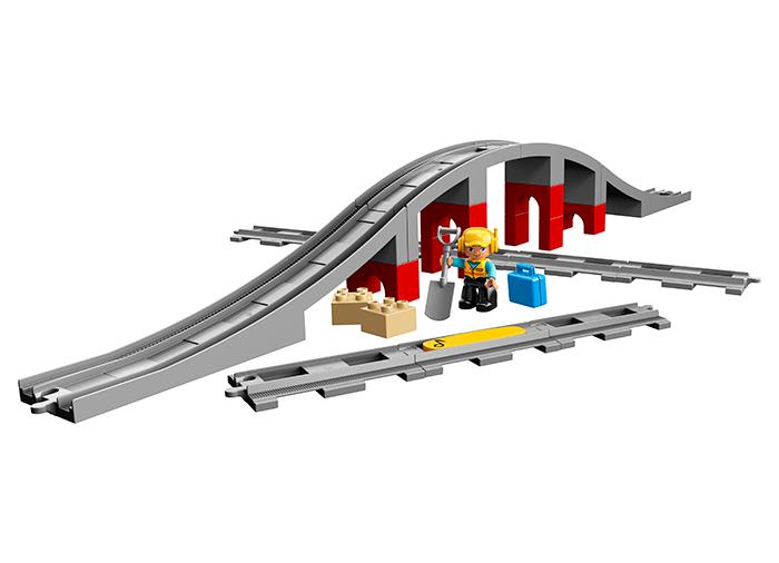 LEGO® DUPLO® Pod si sine de cale ferata 10872 [0]