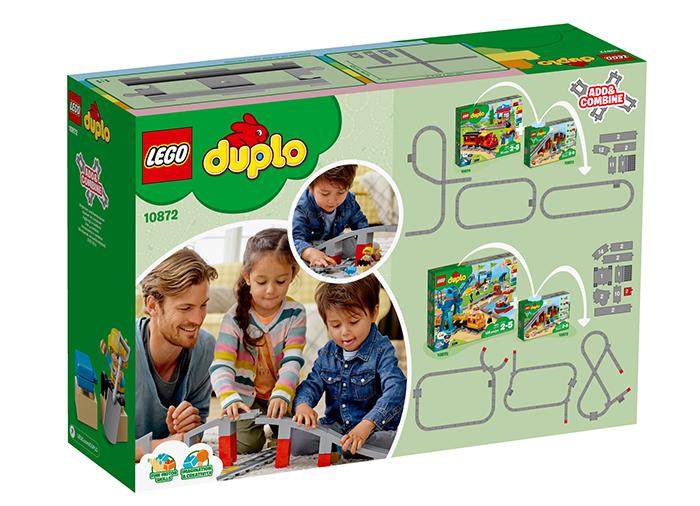 LEGO® DUPLO® Pod si sine de cale ferata 10872 [1]