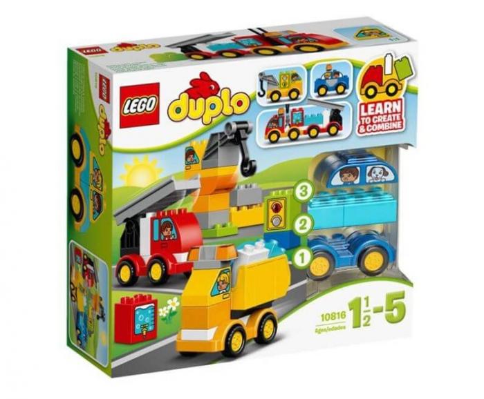 LEGO® DUPLO® Primele mele masini si camioane 10816 0