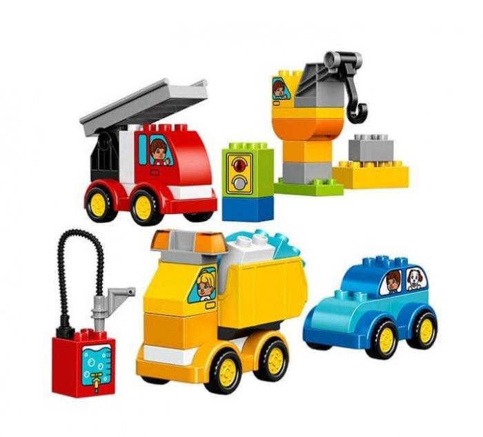 LEGO® DUPLO® Primele mele masini si camioane 10816 1