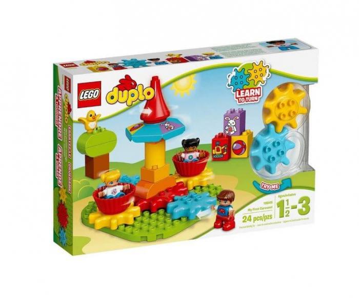 LEGO® DUPLO® Primul meu carusel LEGO DUPLO 10845 0
