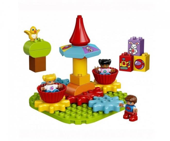 LEGO® DUPLO® Primul meu carusel LEGO DUPLO 10845 1