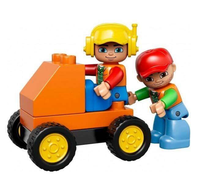 LEGO® DUPLO® Santier mare 10813 4