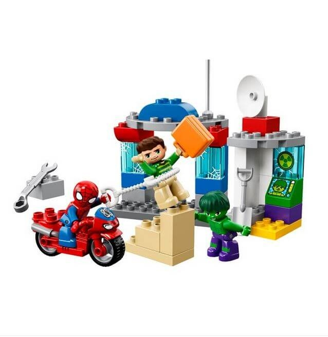 LEGO® DUPLO Super Heroes Aventurile lui Spider-Man & Hulk 10876 1