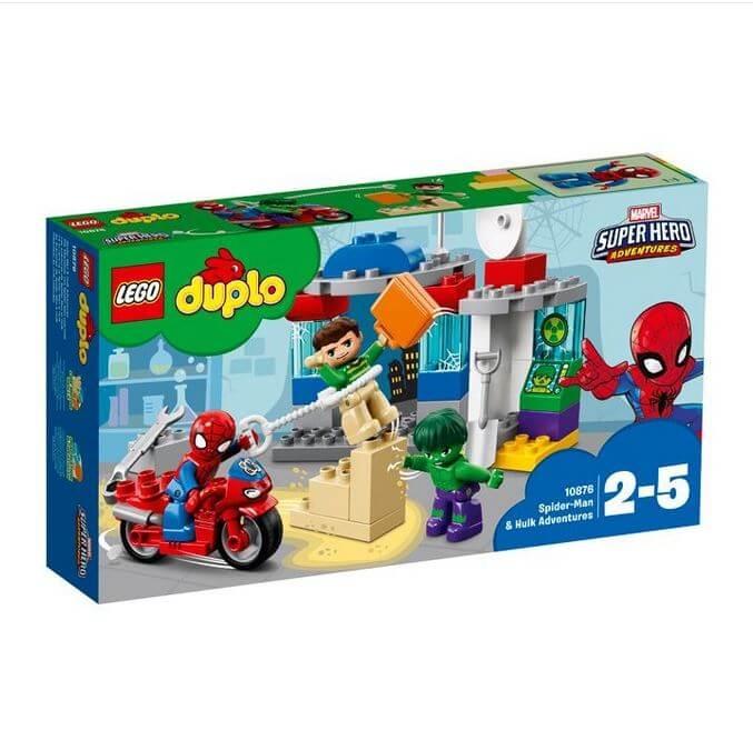 LEGO® DUPLO Super Heroes Aventurile lui Spider-Man & Hulk 10876 0