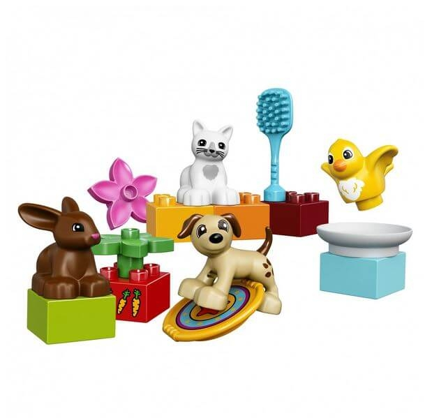 LEGO® DUPLO® Town Animalutele familiei 10838 2