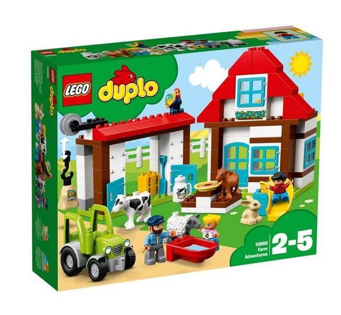 LEGO® DUPLO® Town Aventuri la ferma 10869 0