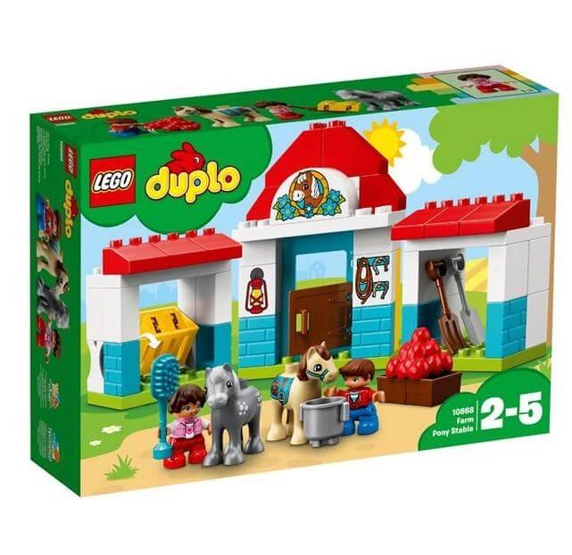 LEGO® DUPLO® Town Grajdul poneilor 10868 0