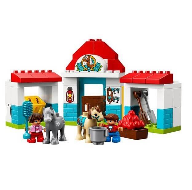 LEGO® DUPLO® Town Grajdul poneilor 10868 1