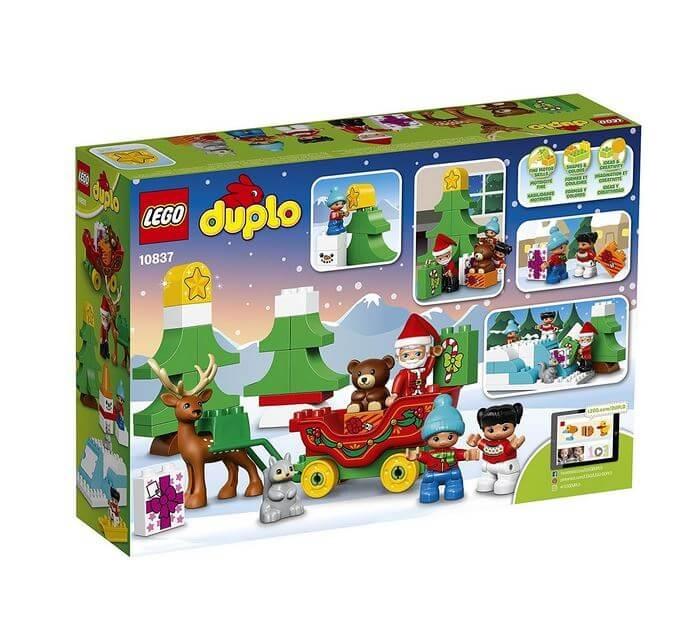 LEGO® DUPLO® Town Vacanta de iarna cu Mos Craciun 10837 2