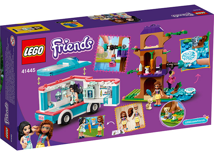 LEGO® Friends: Ambulanta veterinara 41445 1