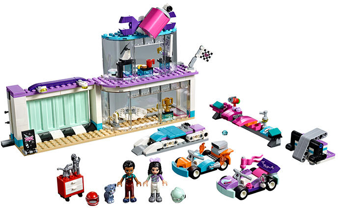 LEGO® Friends Atelier creativ de tuning 41351 [0]