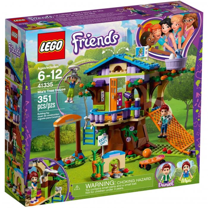 LEGO Friends - Casuta din copac a Miei 41335, 351 piese [0]