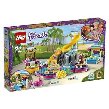 LEGO Friends - Petrecerea la piscina a Andreei 41374, 468 piese [0]