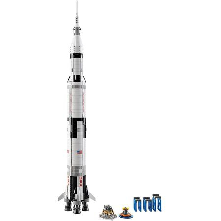 LEGO® Ideas NASA Apollo Saturn V 21309 1