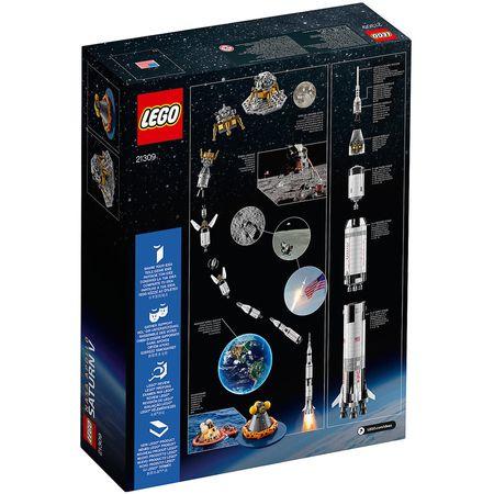 LEGO® Ideas NASA Apollo Saturn V 21309 2